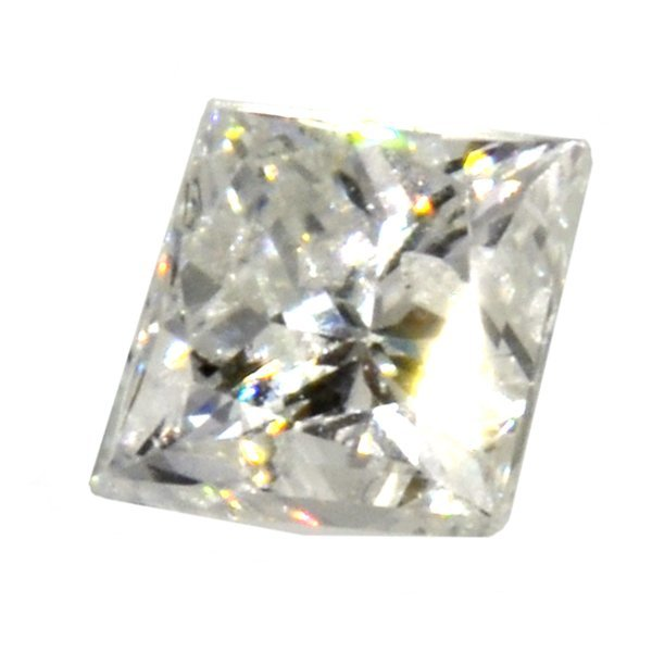 APP: 1.2k *0.25CT Princess Cut Diamond Gemstone