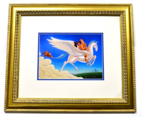 "Disney ""Hercules"" Print Museum Framed Ltd. Edition"