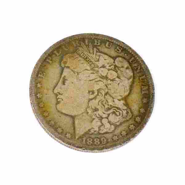 1889-O U.S. Morgan Silver Dollar Coin - Investment