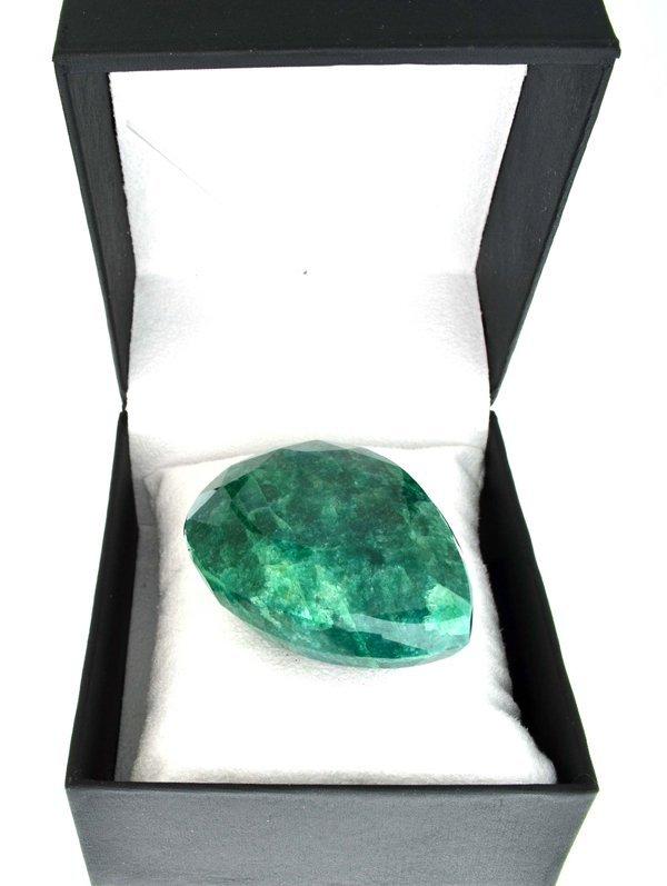 APP: 38.5k 712.50CT Pear Cut Emerald Gemstone