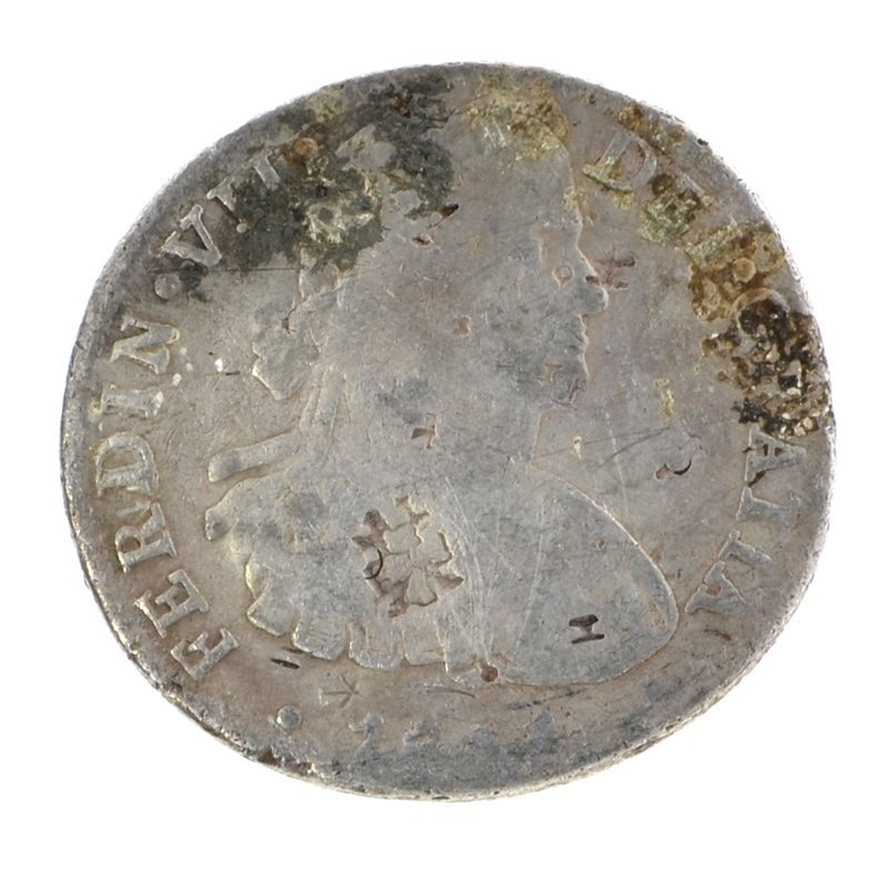 Early 1800's Eight Reales American First Silver Dollar