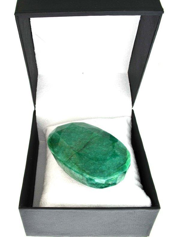 APP: 39.8k 736.25CT-  Oval Cut Emerald Gemstone