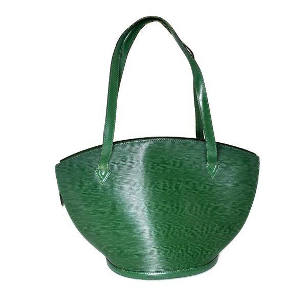 Authentic Louis Vuitton Saint Jacques Leather Bag As-Is