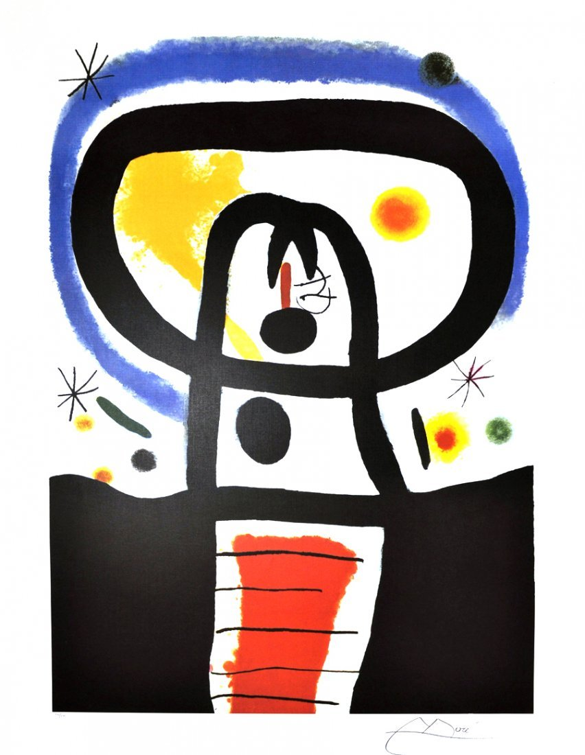 JOAN MIRO Equinox Print, Limited Edition
