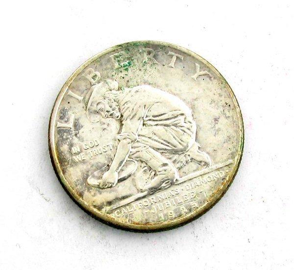 1925-S California Diamond Jubilee Comm. 1/2 Dollar