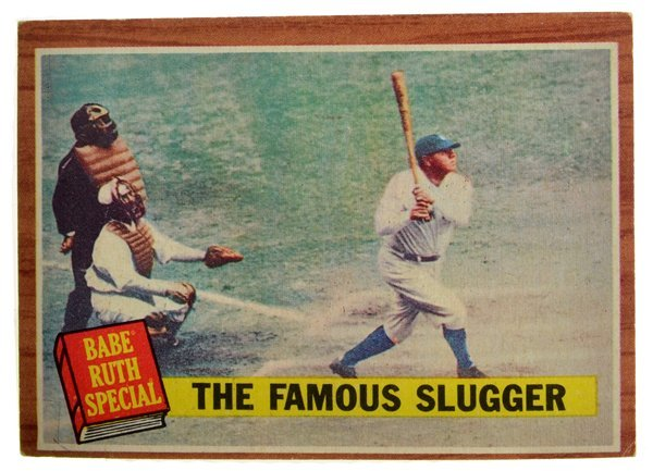 1962 Topps #138 Babe Ruth Yankees VG-EX 225046