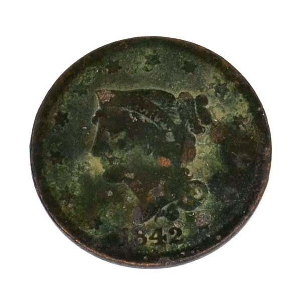 1842 Large Cent Coin - Investment