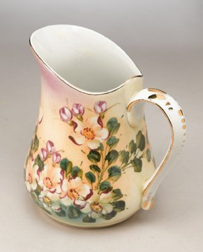 Porcelain Apple Blossom Pitcher