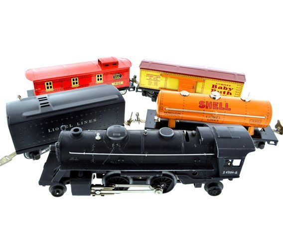 Pre-War Lionel O-Gauge Train Set 1096 1st Set Purchased