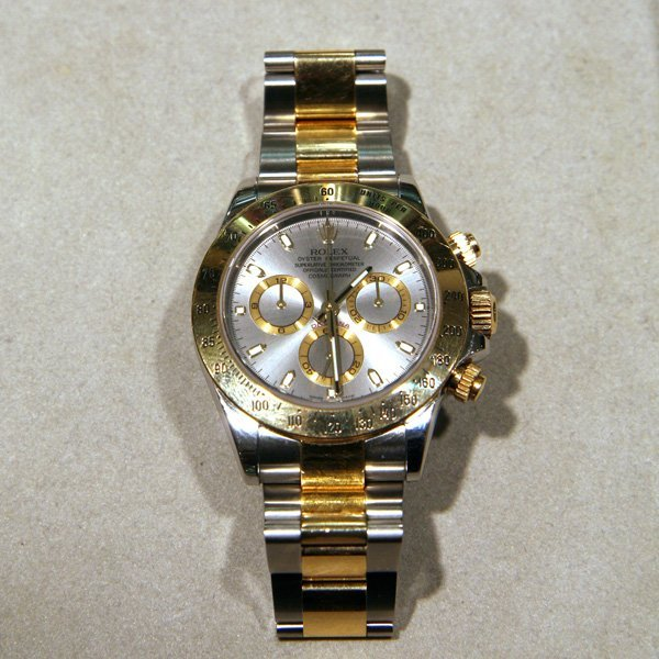 Rolex Daytona - Two Tone, Original Box and Papers -P-