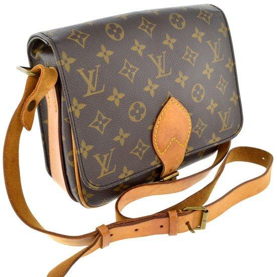 Authentic Louis Vuitton Monogram MM Shoulder Bag