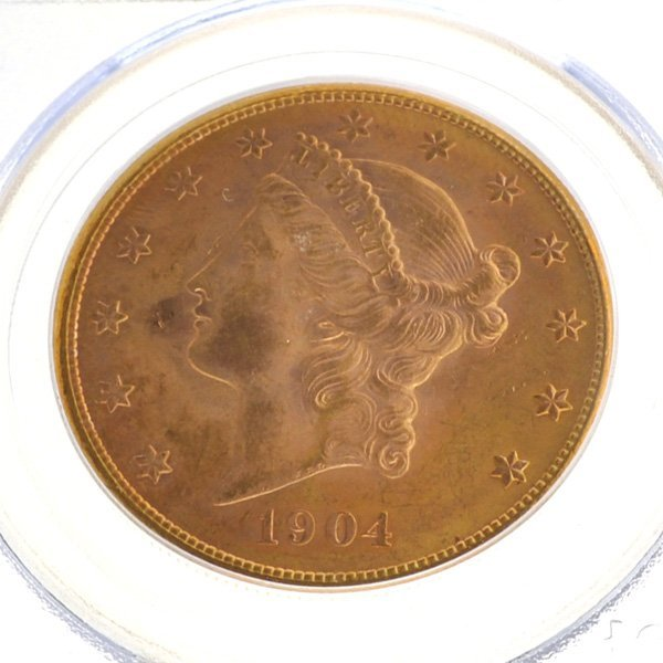 *1904-S $20 Liberty Head Gold Coin - Investment