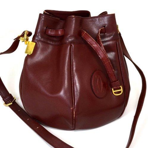 Authentic Cartier Paris Purse Handbag (Pre Owned)