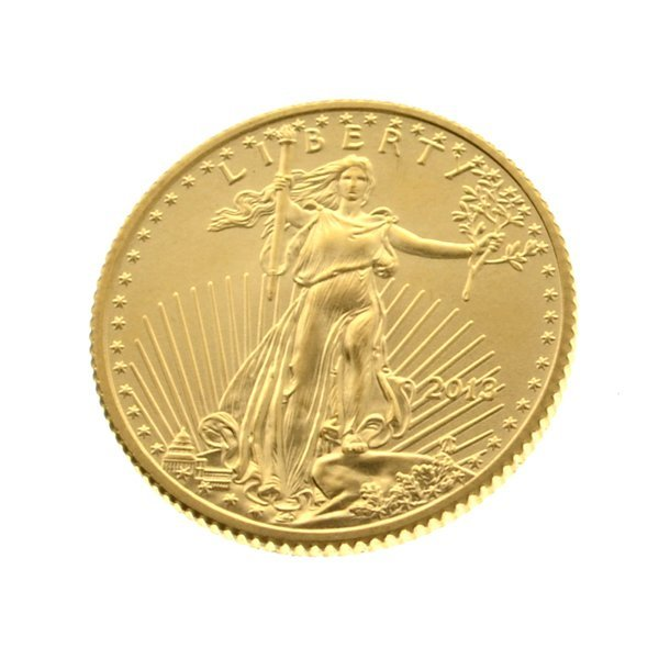 2013 1/10 oz Gold $5 American Eagle Coin - Investment