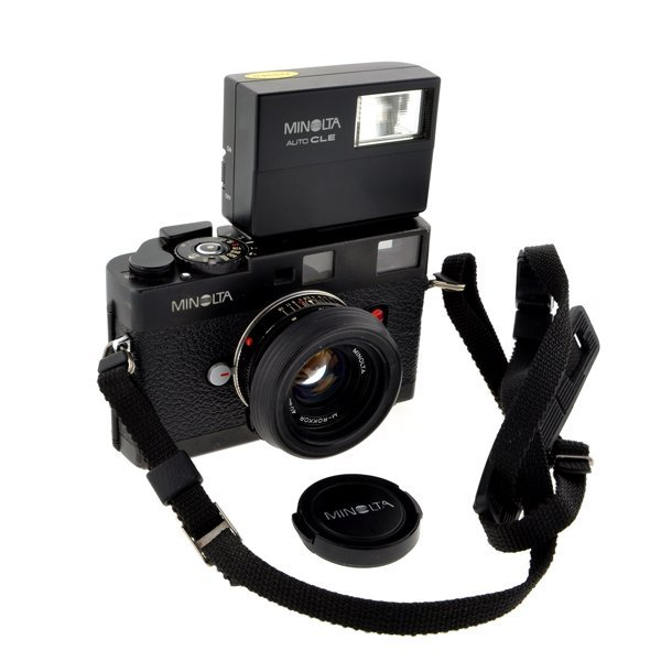 *Minolta CLE w/Rokkor 40mm Lens, Japan 1980-84 Working