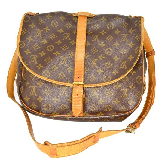 ^Authentic Louis Vuitton Monogram 35 Bag (Pre Owned)