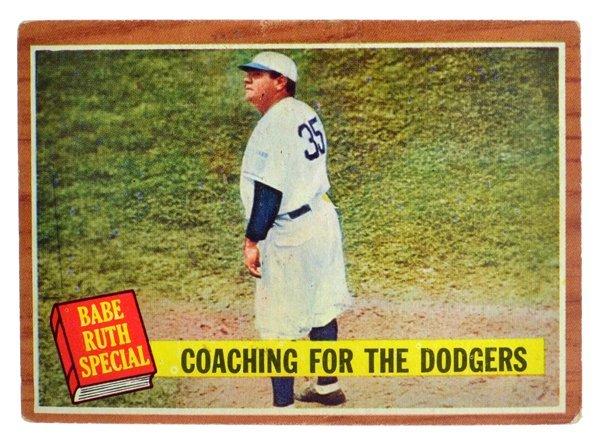 ^1962 Topps #142 Babe Ruth VGEX
