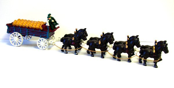 32 Inch Eight Horse Beer Wagon