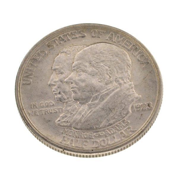1923-S Monroe Commemorative 1/2 Dollar Coin