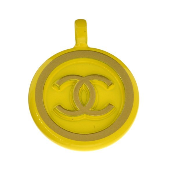Vintage Chanel Medallion Pendant - CC Logo