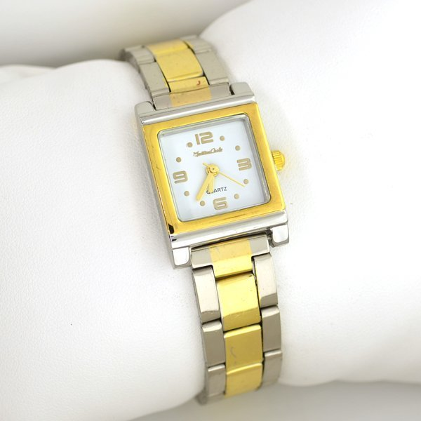 Monte Carlo Women's Stainless Steel Silver & Gold Watch