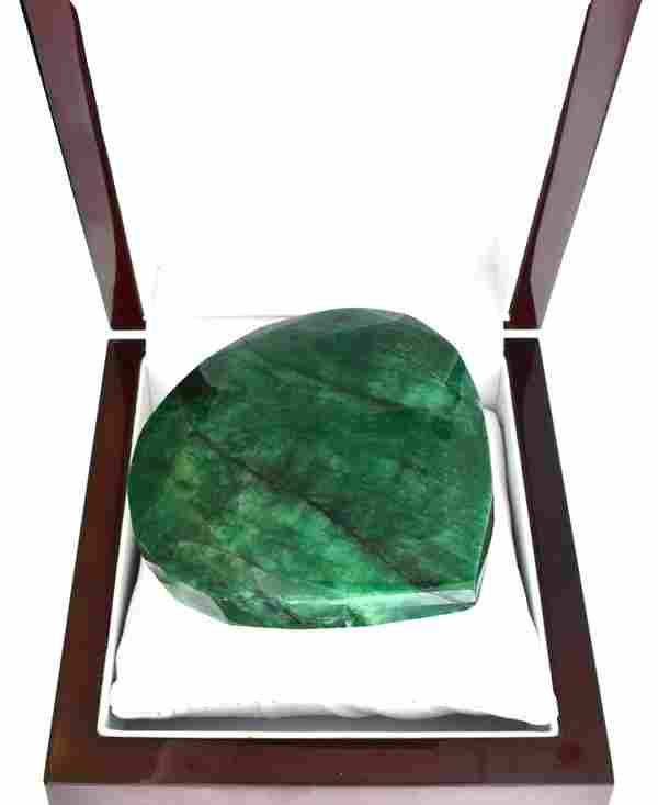 APP: 11k 1332 CT Pear Cut Green Beryl Emerald Gemstone