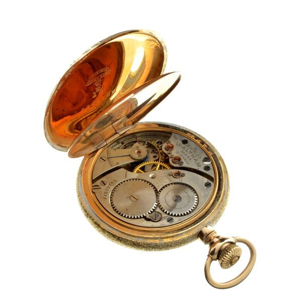 ^1902 Waltham 25 Year Gold Filled Ornate Pocket Watch - 3