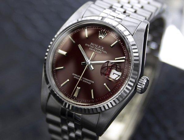 *Men's Swiss Rolex Oyster Datejust 1601 c.1970's (4074)