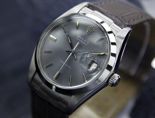 Men's Vintage Rolex Oysterdate Precision 6694 Grey Dial - 2