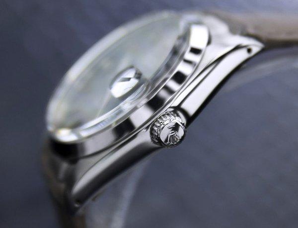 Men's Vintage Rolex Oysterdate Precision 6694 Grey Dial - 4