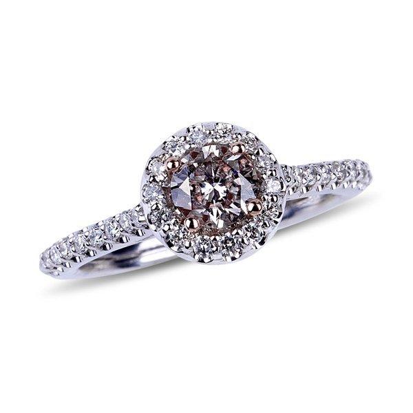 APP: 15k *14kt Two Tone Gold, Diamond & Diamond Ring