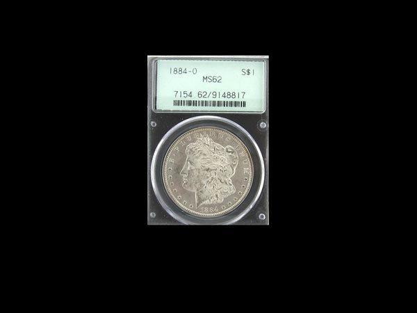 5731: 1884-O MS62 Morgan Dollar Coin, COLLECT!
