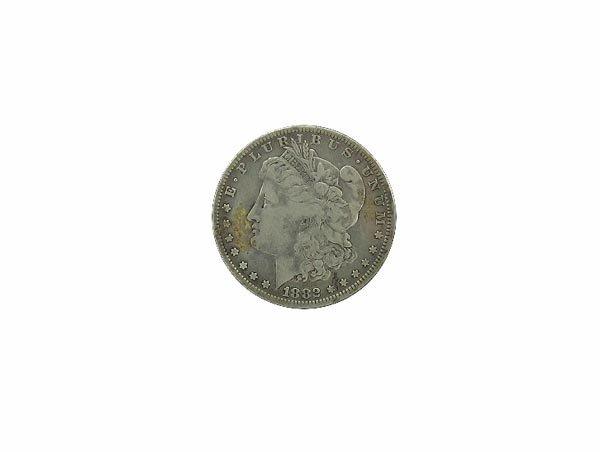 5735: GOV: 1882 O Morgan Silver Dollar Coin, COLLECTABL