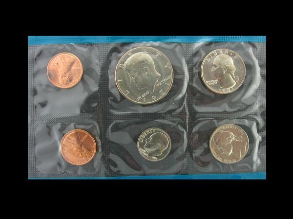 5743: 1971 Uncirculated Coin Set Coin, COLLECTORS' ITEM