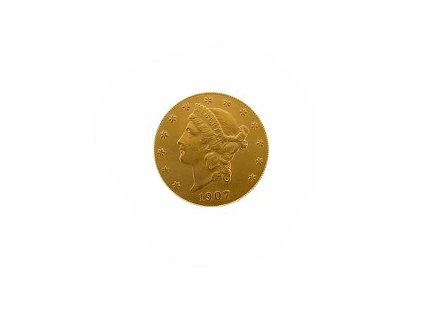 5745: 1907-S $20 US Gold Coin, COLLECTORS' ITEM!!