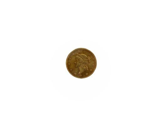 25: GOV: 1853 $1 US Gold Coin, COLLECTABLE!!