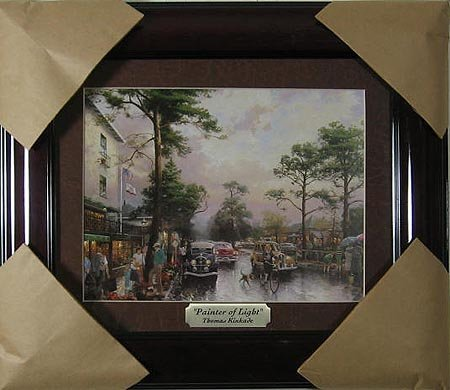 269: THOMAS KINKADE - Gorgeous, Framed Calendar Print,