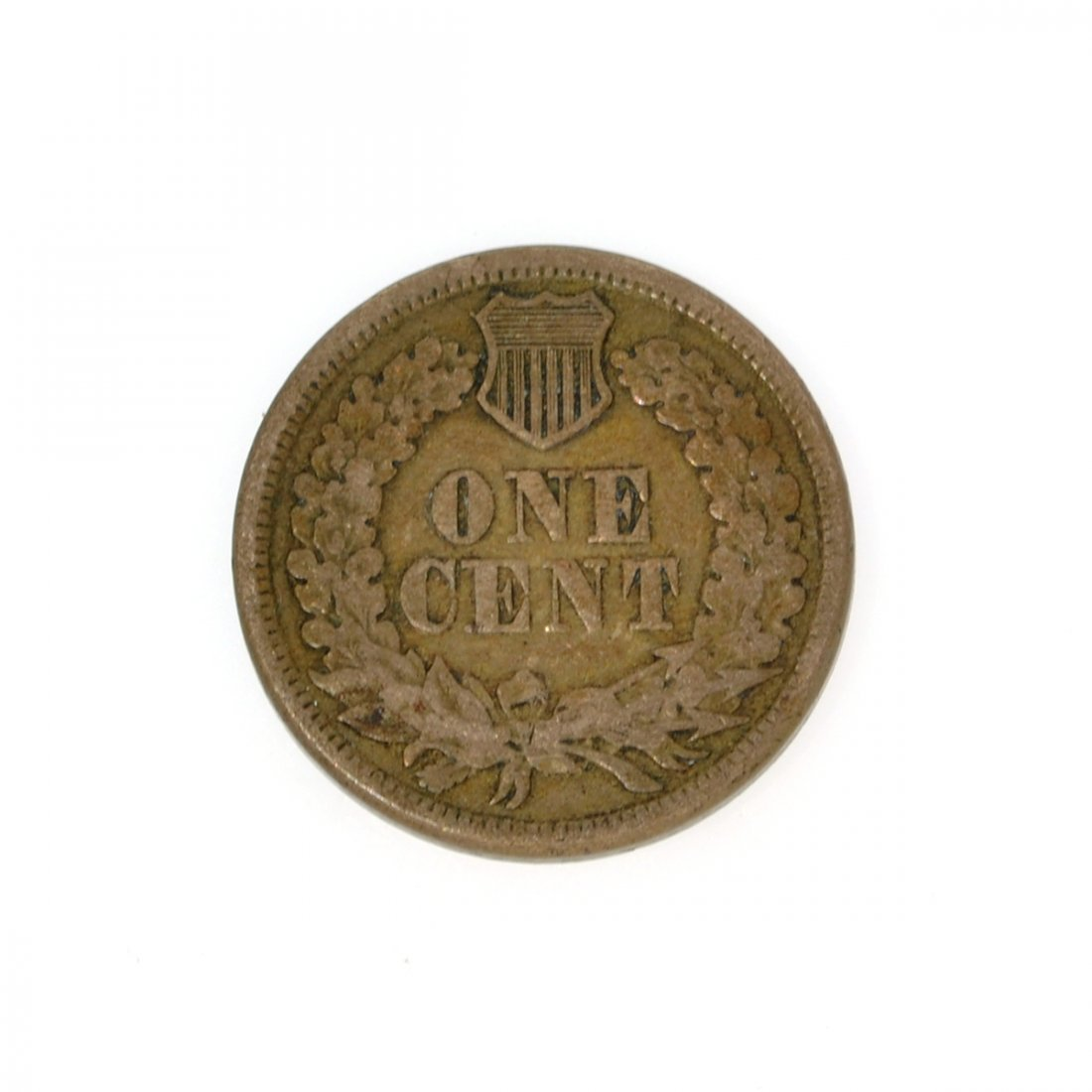 Rare 1862 Indian Cent Coin - 2