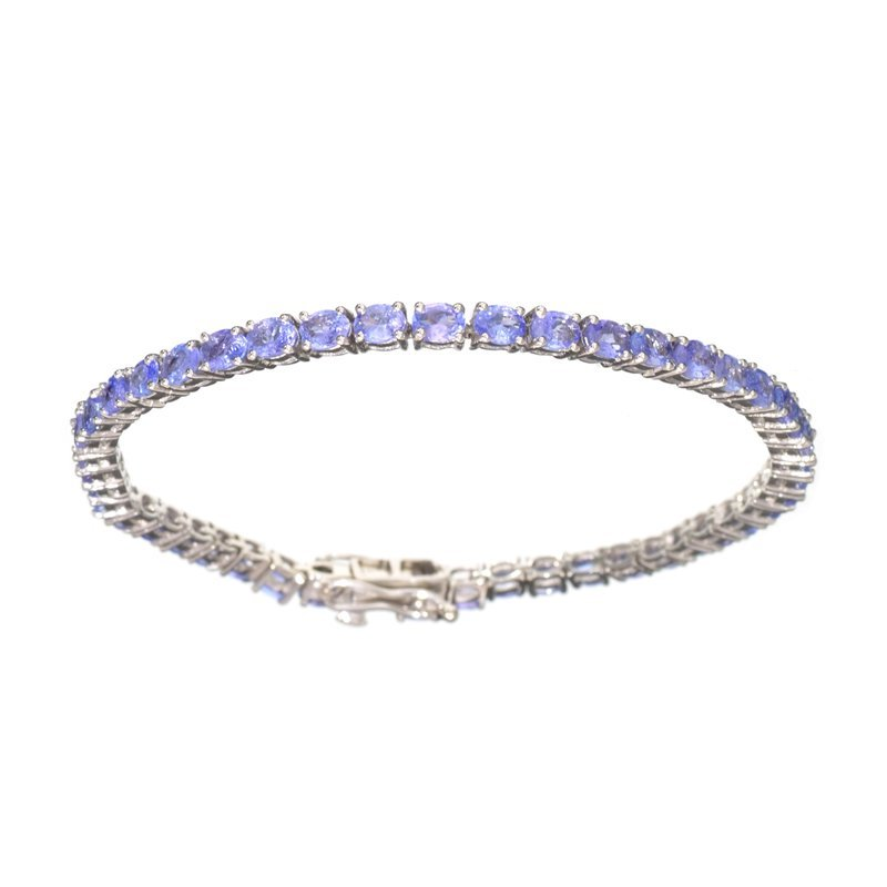 APP: 5k Fine Jewelry 7.40CT Oval Cut Tanzanite And