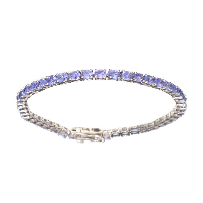 APP: 5k Fine Jewelry 7.40CT Oval Cut Tanzanite And