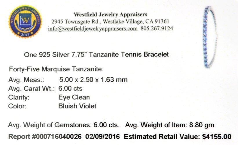 APP: 4.2k Fine Jewelry 6.00CT Marquise Cut Tanzanite - 2