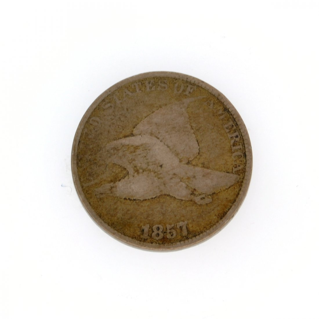 Rare 1857 Flying Eagle One Cent Coin