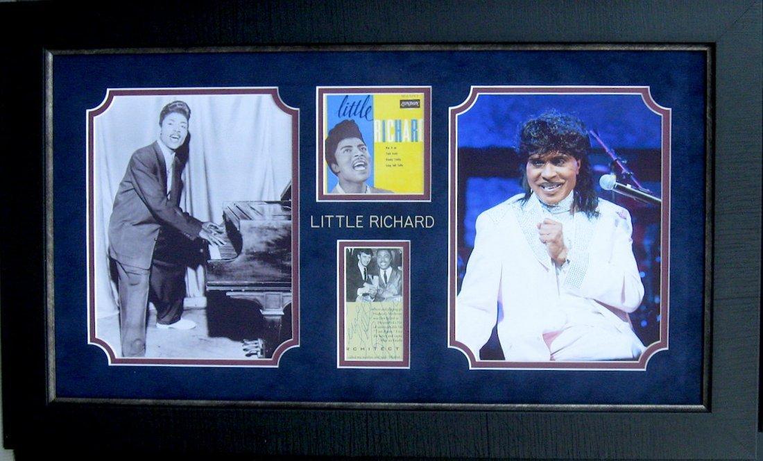 Authentic Little Richard Signature