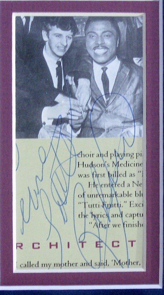 Authentic Little Richard Signature - 2
