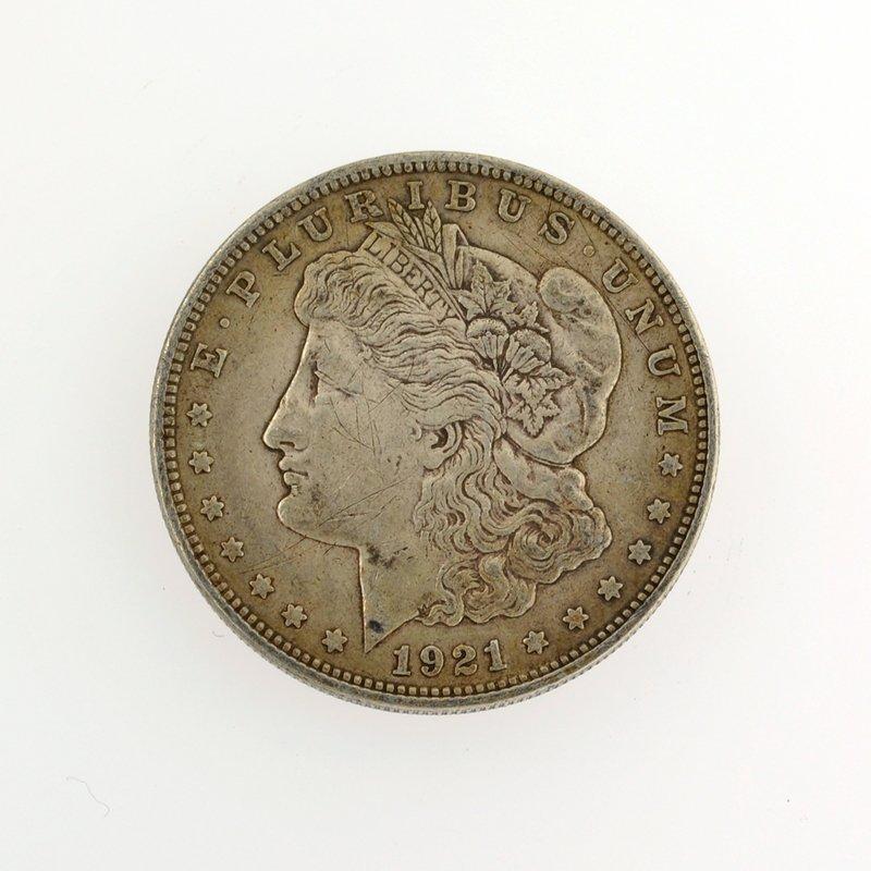 1921 Morgan Dollar Coin