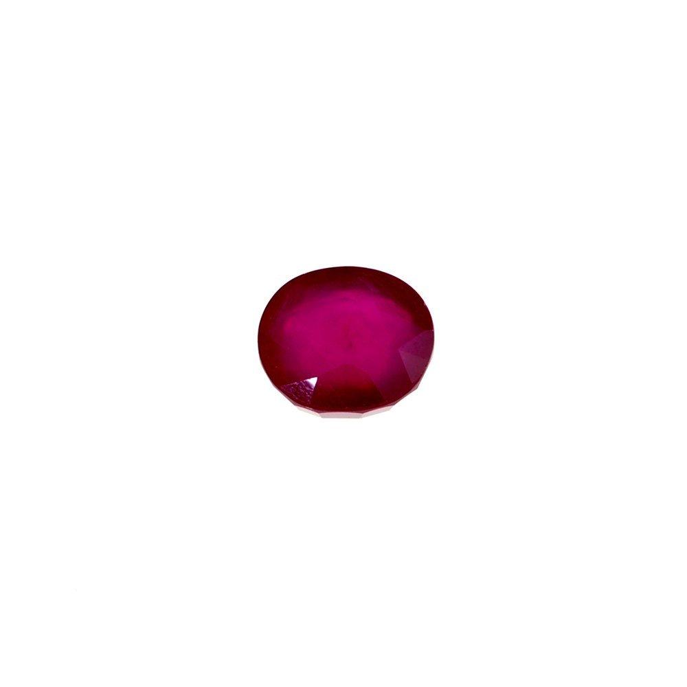 APP: 2k 7.94CT Oval Cut Ruby Gemstone