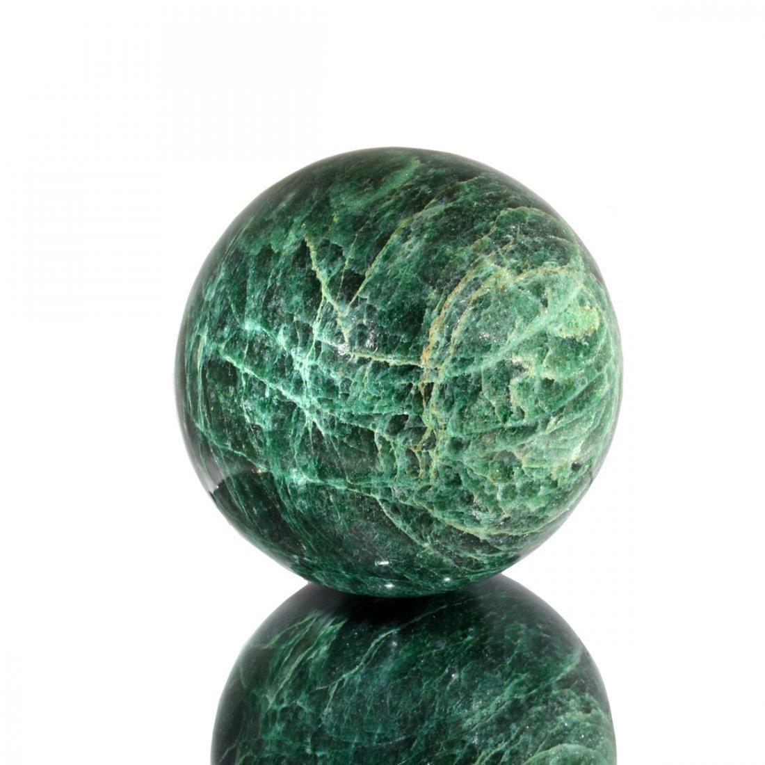 APP: 2.8k Rare 3,457.00CT Sphere Cut Green Aventurine