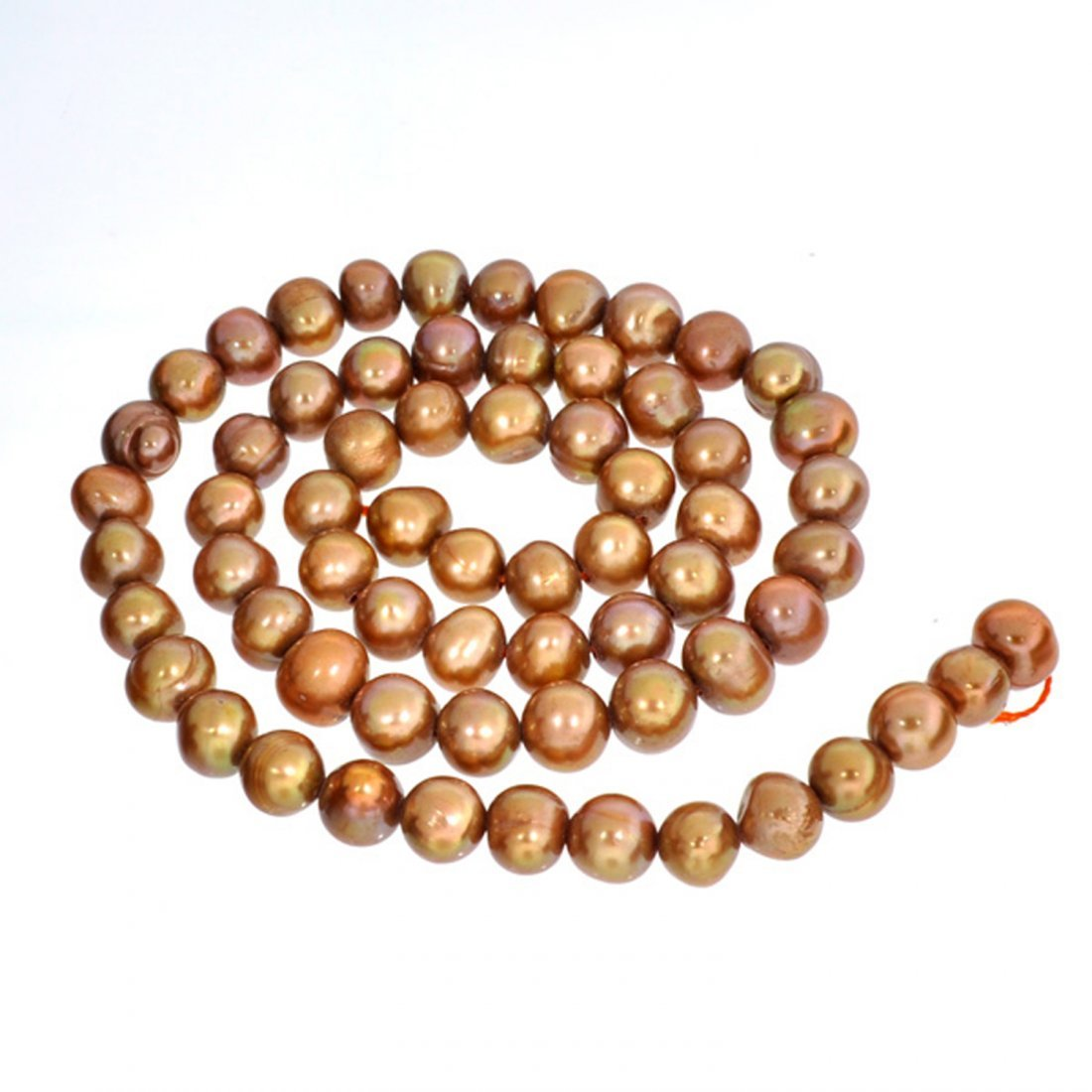 15'' Chocolate Pearl Strand