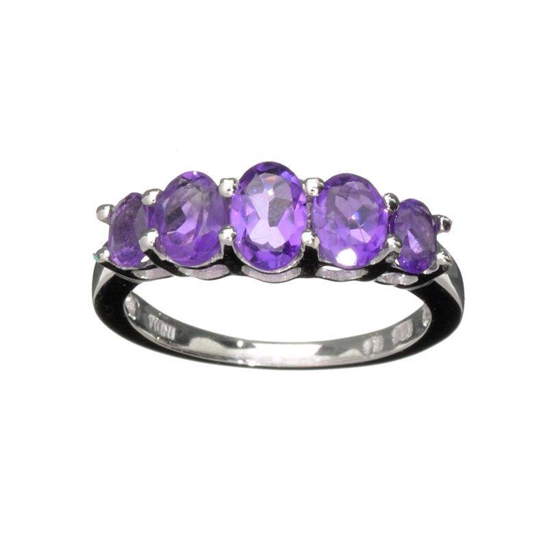 APP: 0.8k Fine Jewelry 1.75CT Oval Cut Purple Amethyst