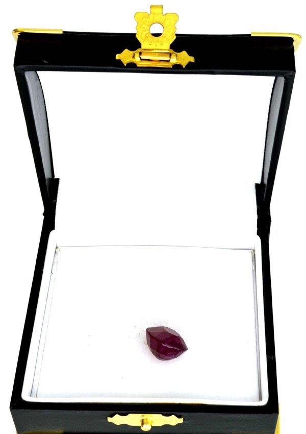 APP: 3k 12.14CT Oval Cut Ruby Gemstone